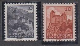 Liechtenstein 1943 Automaten-Freimarken 2v ** Mnh (44442) - Ongebruikt