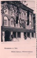 Autriche, Braunau Am Inn, Adolf Hitler Geburtshaus + Tampon Gasthof Jos. Pommer (85732) - Braunau