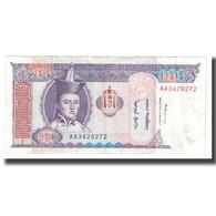 Billet, Mongolie, 100 Tugrik, KM:57, TTB - Mongolie