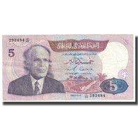 Billet, Tunisie, 1 Dinar, 1983, 1983-11-03, KM:74, TTB - Tunisie