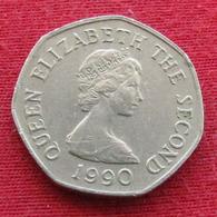 Jersey 20 Pence 1990 KM# 66 *V2 - Jersey