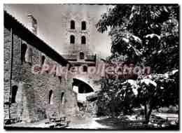 CPM Le Roussillon Abbaye De St Martin Du Canigou Le Cloitre Et Le Clocher - Roussillon