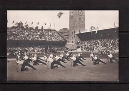 Olympic Games-1912, Stokholm, Postcard №173(  Russian Gymnasts In The Stadium) - Sommer 1912: Stockholm