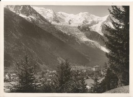 Photo Originale- Beau Format  - Photo Gay Couttet à Chamonix - - Orte
