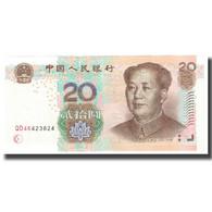 Billet, Chine, 20 Yuan, 2005, KM:905, SPL - Chine