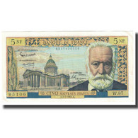 France, 5 Nouveaux Francs, Victor Hugo, 1962, 1962-07-05, SPL, Fayette:56.12 - 5 NF 1959-1965 ''Victor Hugo''