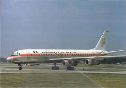 Aeronaves De Mexico Douglas DC-8 XA-SID Avion At MEM Aviation Airplane - 1946-....: Era Moderna