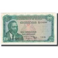 Billet, Kenya, 10 Shillings, 1969, 1969-07-01, KM:7a, TTB - Kenia