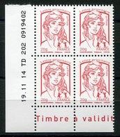 RC 13279 FRANCE N° 4767 MARIANNE DE CIAPPA COIN DATÉ NEUF ** - France
