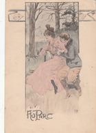 CPA  Art Nouveau Illustrateur G. CONRAD   AU PARC - Conrad