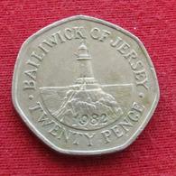 Jersey 20 Pence 1982 KM# 53 - Jersey