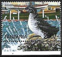 TANZANIA - MNH - 1999 -    Parakeet Auklet    Aethia Psittacula - Vogels