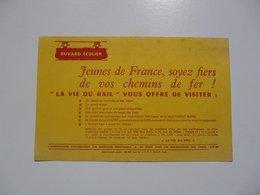 VIEUX PAPIERS - BUVARD : La Vie Du Rail - Transports