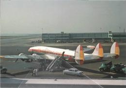 IBERIA Airlines Lockheed L-1049H Costellation At IDL Aviation Airplane Spagna - 1946-....: Era Moderna