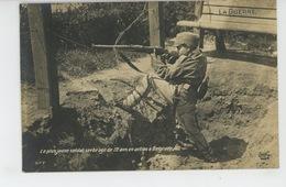 GUERRE 1914-18 - SERBIA - Le Plus Jeune Soldat Serbe âgé De 12 Ans En Action à BELGRADE - Guerre 1914-18