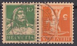 HELVETIA - SUISSE - SVIZZERA - Yvert 159a Usato. - Gebraucht