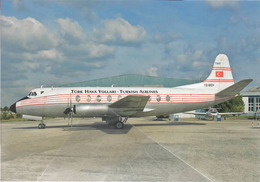Turkish Airlines Aviation Vickers 794D Viscount TC-SEV Airplane - 1946-....: Era Moderna
