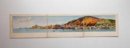 Dubrovnik Ragusa Von Nord Lacroma Gesehen , Triple 3 Parts Postcard Edition Bernhard Weiss - Croatia