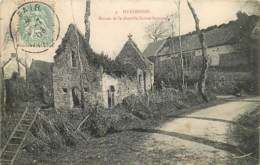 50 , HUDIMESNIL , Ruines De La Chapelle Ste Suzanne , * 410 50 - Francia