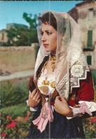 (ITALIE )( SARDAIGNE)( FOLKLORE )( FEMME )( COSTUMES ) COSTUME DI DORGALI . NUORO ) - Costumes