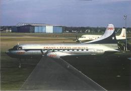 TTA - Trans Texas Airways Convair 240-0 N94205 Airplane - 1946-....: Era Moderna