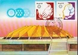 Brazil Maximum Card - Rotary, Lions Club