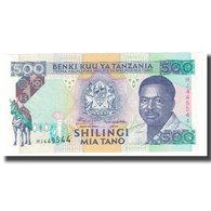 Billet, Tanzania, 500 Shilingi, KM:26c, NEUF - Tanzanie