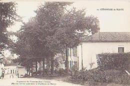 Gironde        1052        Citadelle De Blaye.Logement Du Commandant D'armes - Blaye