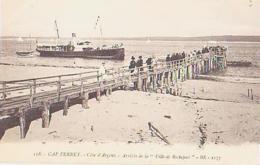 """Gironde        1110        CAP FERRET.Arrivée De La """" Ville De Rochefort """" - Autres Communes"""