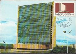 Brazil Maximum Card - Storia Postale