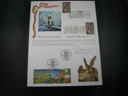 BELG.1997 Christmas : Kertsmis : Noél : Weihnachten 1997 FILATELIC CARD - FDC