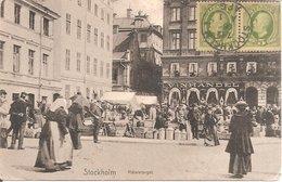 STOCKHOLM (SUEDE) Mälaretorget En 1906 - Schweden