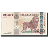 Billet, Tanzania, 2000 Shilingi, KM:37a, NEUF - Tanzanie