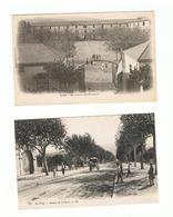 1935-615 9cp Blida 2 -bougie 2-sétif-oran 4   La Vente Sera Retirée Le 15-09 - Autres Villes