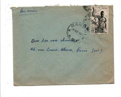 A E F LETTRE DE BANGUI POUR LA FRANCE 1951 - A.E.F. (1936-1958)