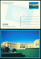 GA UN Geneva Postal Stationary 1998 MiNr P 14 Postcard Mint - Genf - Büro Der Vereinten Nationen