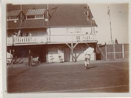 Tennis - Un Smatch De Roberty - 1907 - Photo 8.5 X 12 Cm - Photographs