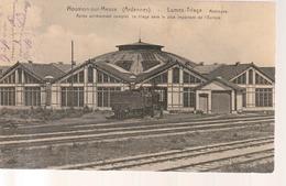 Nouvion-sur-Meuse, Gare, Bahnhof  1916, Feldpost - Francia