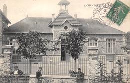 78-CHAMBOURCY- ECOLE - Chambourcy