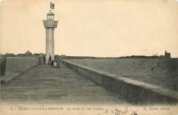 50 , ST VAAST LA HOUGUE , La Jetée Et Ile Tatihou  , * 414 85 - Saint Vaast La Hougue