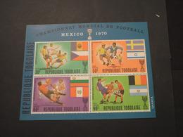 TOGO - BF 1970 GIOCHI MEXICO - NUOVO(++) - Togo (1960-...)