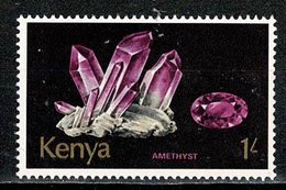 Kenya 1977   Yv 102**, Mi 103**, 1 Shilling  Minerals - Amethyst  MNH - Kenya (1963-...)