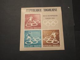 TOGO - BF 1964 GIOCHI TOKYO - NUOVO(++) - Togo (1960-...)