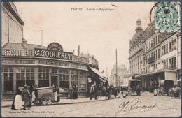 Lot 7 De 62 Cartes Postales Troyes Uniquement , Tous Les Visuels Dans L'annonce - Cartes Postales