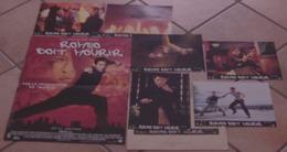 AFFICHE CINEMA FILM ORIGINALE ROMEO DOIT MOURIR + 6 PHOTOS EXPLOITATION JET LI KARATE BARTKOWIAK 2000 - Affiches & Posters
