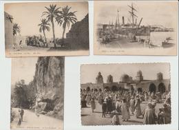 1935-615 7cp Sidi Okba-tlemcen-bone-el Oued Ou Souf La Dechra-taghit-bousaada2- La Vente Sera Retirée  Le 15-09 - Autres Villes