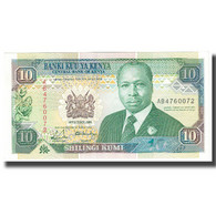 Billet, Kenya, 10 Shillings, 1989, 1989-10-14, KM:24a, NEUF - Kenia