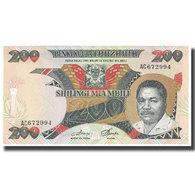 Billet, Tanzania, 200 Shilingi, KM:18a, NEUF - Tanzanie