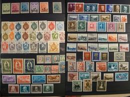 LIECHTENSTEIN - Timbres Anciens - Majorités Neufs * - Des Non Dentelés - Cote 180 + - Collections