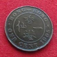 Hong Kong 1 One Cent 1905 KM# 11 Hongkong Hong-Kong - Hongkong